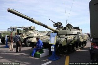 T-64BM BULAT main battle tank technical data sheet specifications description information intelligence pictures photos images identification Ukraine Ukrainian defense industry military technology equipment army