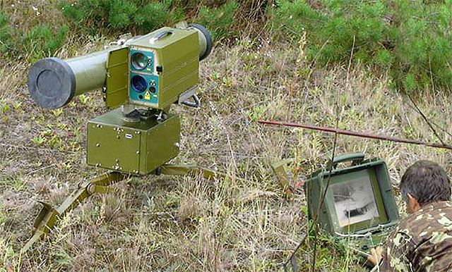 Stugna Stugna-P anti-tank guided missile technical data sheet specifications description information intelligence pictures photos images identification Ukraine Ukrainian defense industry military technology army