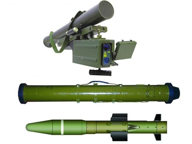 Ukraine has tested a new Corsar light portable antitank missile system and plans to complete development work on it by the end of 2013, the missile designer said Thursday, July 25, 2013.
