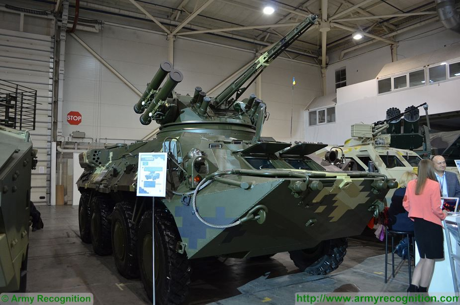 Part of the armored personnel carriers BTR-3 delivered by Ukraine to Thailand was reworked from the BTR-70 and BTR-80 99