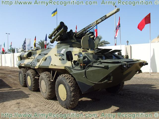 Thailand will receive soon another batch of 48 Ukrainian wheeled armoured personnel carriers BTR-3E1 purchased under contracts from 2006-2011. Information from the Russian Press agency Lenta.