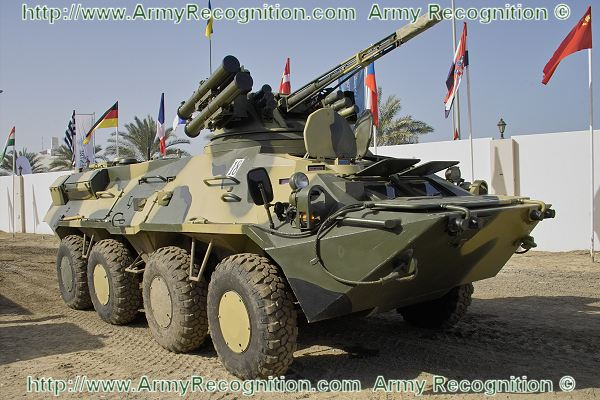 Btr 3e1 Wheeled Armoured Vehicle Personnel Carrier