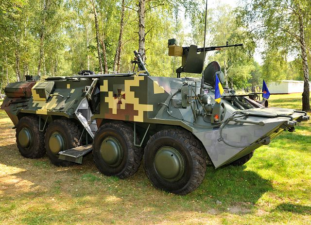 Ukraine Armed Forces Will Receive New Btr 3m2 8x8 Armoured
