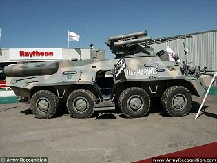 BTR-3U Guardian APC 8x8 armoured vehicle personnel carrier technical data sheet specifications description information intelligence pictures photos images identification Ukraine Ukrainian defense industry military technology army
