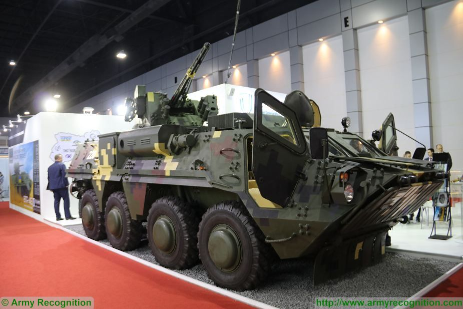 BTR 4E APC 8x8 wheeled armoured vehicle personnel carrier UKraine Ukrainian army defense industry 925 001