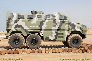 Fiona 6x6 APC Streit Group KrAZ armoured vehicle personnel carrier technical data sheet specifications description information intelligence pictures photos images identification Ukraine Ukrainian defense industry military technology equipment army
