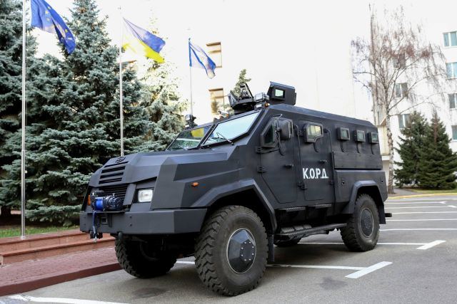 "National Guard of Ukraine tests the new Ukrainian-made 4x4 armoured vehicle named ""Varta-2"". Following the first results of the trial tests, the Ukrainian National Guard could take the decision to purchase 10 vehicles that may be followed by a second order of 60 vehicles."