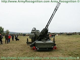 Oerlikon 35 mm twin cannon GDF-001 GDF-003 GDF-005 GDF-007 technical data sheet specifications description information intelligence pictures photos images video German Germany Defence Industry military technology anti-aircraft air defence system