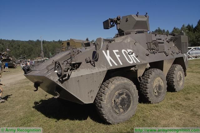 Pandur 1 I wheeled 6x6 armoured vehicle personnel carreir Austria Austrian army military equipment defense industry 640 001