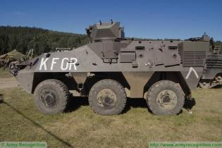 Pandur 1 6x6 APC armoured vehicle personnel carrier technical data sheet specifications intelligence pictures video images photos identification description information Aystria Austrian army military equipment defense industry
