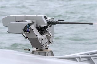Sea deFNder Naval RWS Remote Weapon Station Remotely Operated FN Herstal Belgium defense industry right side view 001