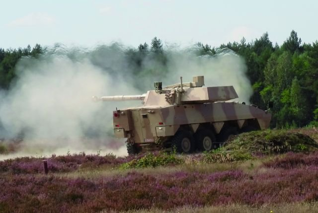 ct-cv weapon system armoured vehicle turret 105 120 mm gun cmi Defence cockerill Belgium Belgian 640 001bis