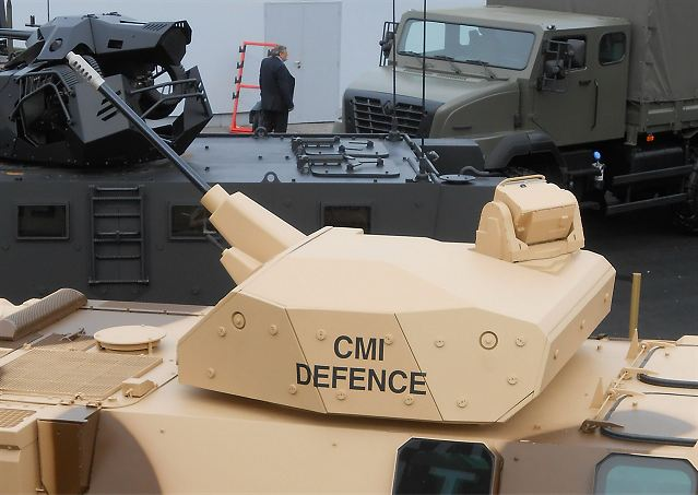 CPWS 20-25-30 medium calibre Cockerill protected weapon station technical data sheet description specifications information intelligence pictures photos images CMI Defence Cockerill Belgium Belgian army weapons Defence industry military technology