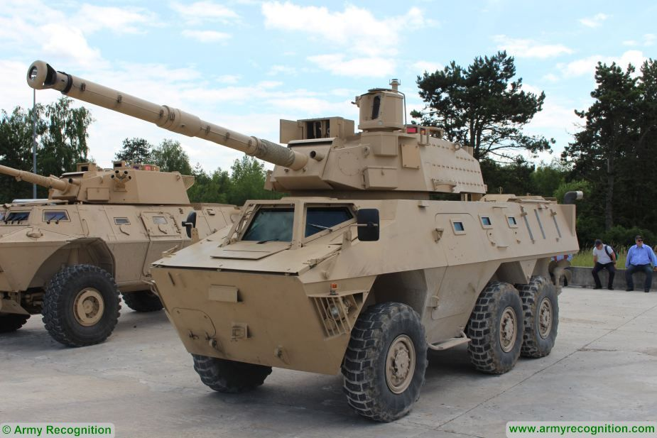 LCTS 90MP John Cockerill weapon system 90 mm turret armored