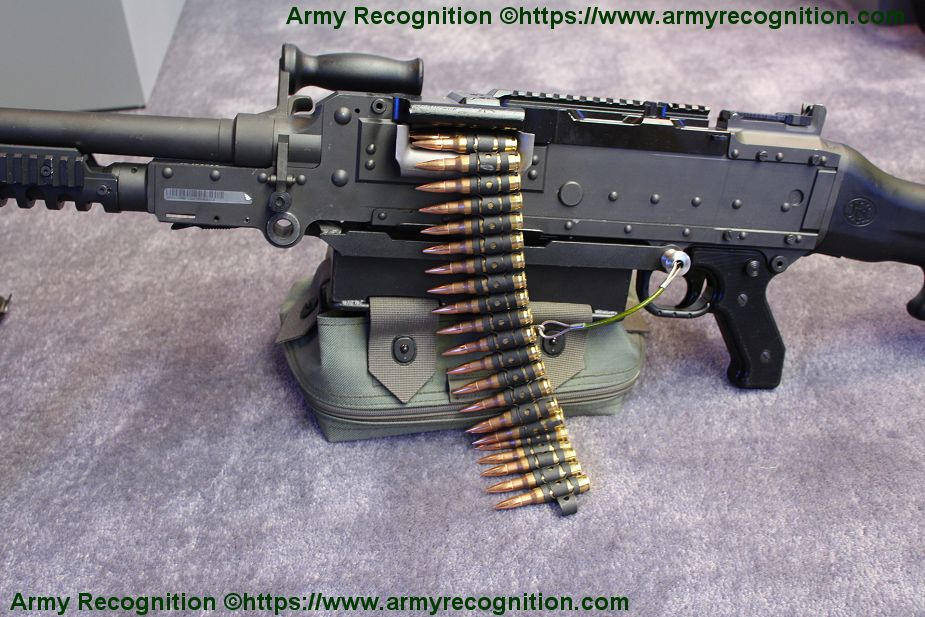 FN MAG general purpose machine gun 7 62mm caliber FN Herstal Belgian Belgium firearms manufacturer details 925 002