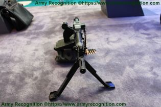 FN MAG general purpose machine gun 7 62mm caliber FN Herstal front view 001