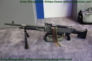 FN MAG general purpose machine gun 7 62mm caliber FN Herstal left side view 001
