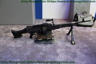 FN MAG general purpose machine gun 7 62mm caliber FN Herstal right side view 001