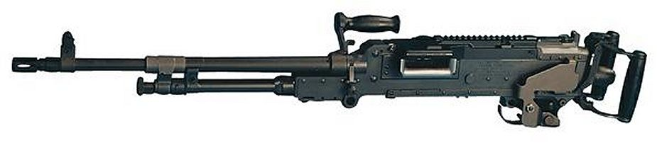 coax mounted FN MAG 7 62mm light machine gun FN Herstal Belgium 925 001