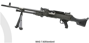 MAG FN Herstal machine gun technical data sheet description specifications information intelligence pictures photos images Belgium Belgian Defence industry weapons