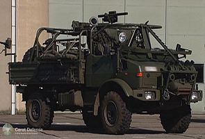 Unimog Special Forces Logistic Platform Carat Defense technical data sheet description specifications information intelligence pictures photos images Belgium Belgian Defence industry military technology