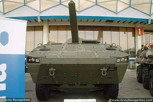 NEMO Patria AMV 120mm 8x8 self-propelled mortar carrier technical data sheet specifications description information pictures intelligence video identification Finland Finnish defense industry military technology personnel carrier