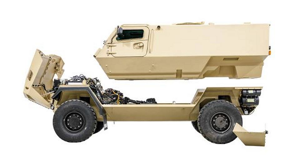 GTP 4x4 SISU modular wheeled armored vehicle Finland Finnish defense industry details 925 002