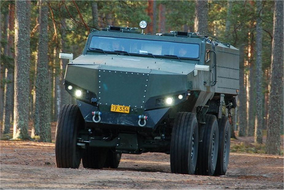 PMPV 6x6 MiSu Protolab MRAP Mine Resistant Ambush Protected vehicle Finland  Finnish defense industry 925 001