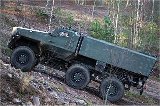 PMPV 6x6 MiSu Protolab MRAP Mine Resistant Ambush Protected vehicle Finland left side view 001