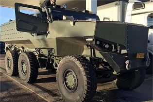 PMPV 6x6 MiSu Protolab MRAP Mine Resistant Ambush Protected vehicle Finland right side view 001