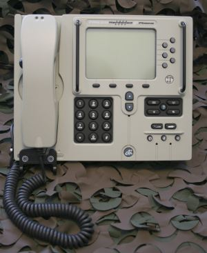 ndustrial Computers expands its range of IP-Phones with the HP7962G. Based on the CISCO 7911 and 6921, it incorporates all of the functionality of the CISCO phones into a rugged unit aimed at military markets and with the appropriate approvals.