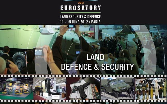 Eurosatory 2012 pictures photos images video video gallery galerie International Defence Security Exhibition Paris France 11 to 15 June 2012 world worldwide army military industry