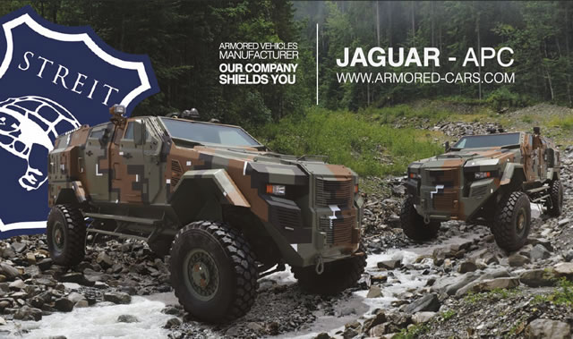 Eurosatory 2012 will see the unveiling of Streit Group's latest prototype armoured vehicle: the Jaguar. Chairman Guerman Goutorov explains how the company is driving ahead with its R&D capability, in order that the company meets an ambitious expansion programme.