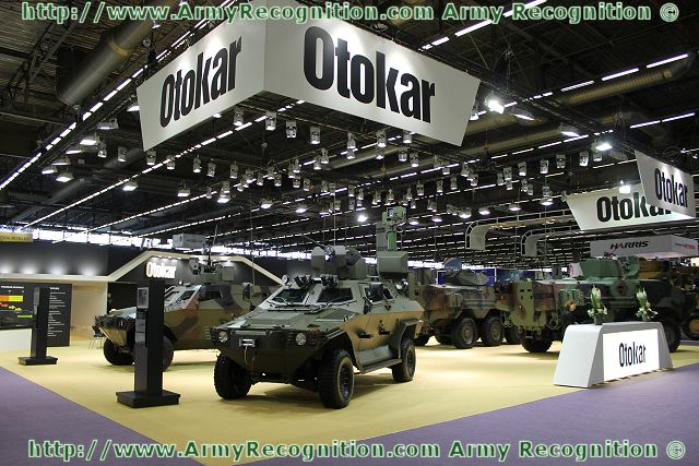 "At Eurosatory 2012, the Turkish Defence Company Otokar presents its full range of wheeled armoured vehicles 4x4, 6x6: Cobra, Arma and Kaya. Defining Otokar's recent status as an internationally competitive organisation, Serdar Gorguc, the General Manager, said: ""Our vehicles are chosen by more users every year. In this respect, we're constantly renewing and expanding our product range."""
