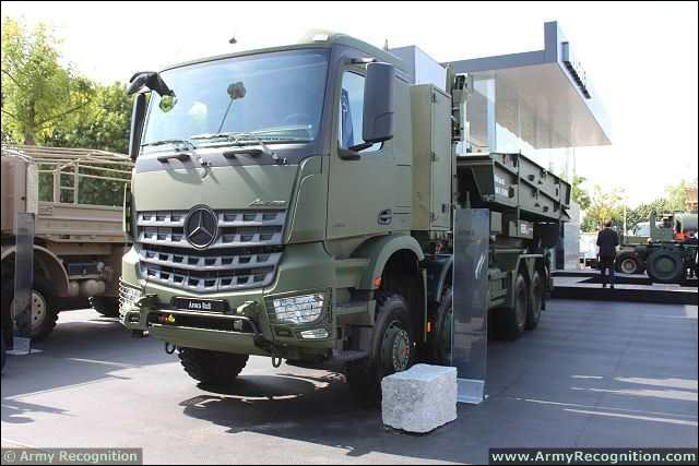 how to translate truck roll-off in french