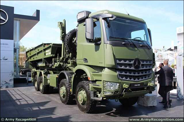 Tmp Quot The New Military Version Of Its Arocs 8x8 Heavy