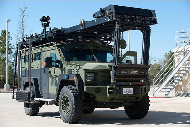 Lenco Industries Will Highlight Its Proven Bearcat 4x4
