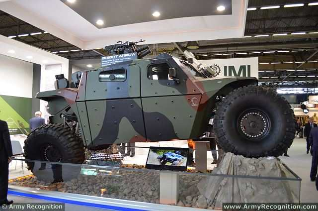 At Eurosatory 2014, the International Defence & Security Exhibition in Paris (France), IMI (Israel Military Industries) unveils the CombatGuard, a new 4x4 armoured combat vehicle. Fast, agile and lethal, COMBATGUARD adapts to the changing warfare conditions, offering unprecedented speed, mobility and protection even in the most rugged terrain.