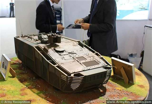 A Mitsubishi Heavy spokesman said the prototype had been shown to the Ministry of Defense, but declined to give details about the vehicle. At a Paris arms show last June, a suitcase-size model of an eight-wheeled armored troop carrier was the centerpiece display at the company's exhibition booth.