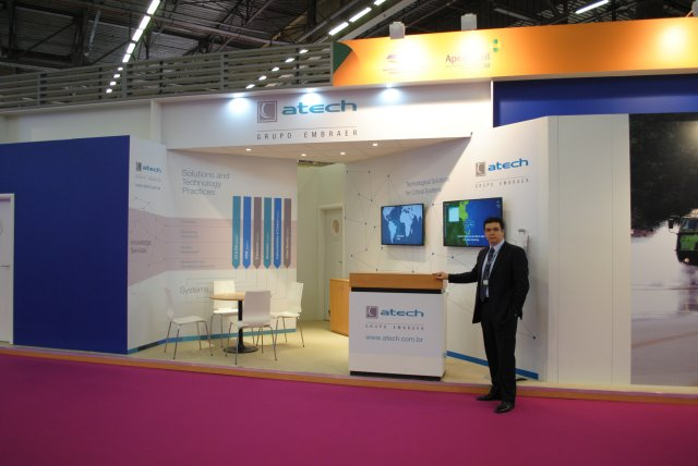Atech presents Management Command and Control Solutions at EUROSATORY 2016 640 001