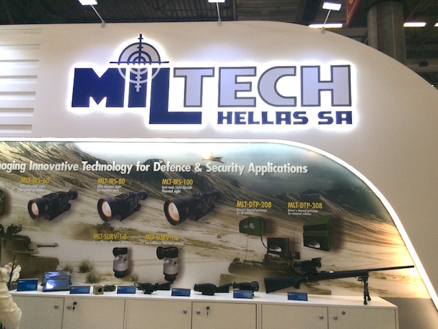 Eurosatory 2016 Combat proven EO IR technology for future soldier by Miltech Hellas 3