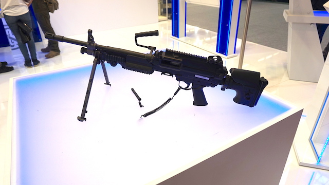 Eurosatory 2016 FN Herstal presented a new tactical buttstock