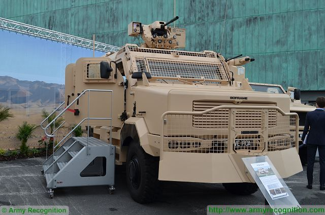 ARIVE 4x4 ARmoured Infantry Vehicle SOFRAME Eurosatory 2016 defense exhibition Paris France 640 001