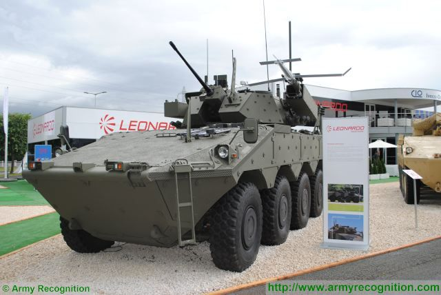At Eurosatory 2016, Leonardo Defence Systems presents the Centauro VBM Explorer, a new reconnaissance vehicle based on the Centauro 8x8 armoured vehicle from CIO (Consortium Iveco – Oto Melara. The vehicle is equipped with one unmanned aerial vehicle (UAV) HORUS and one TRP2 unmanned ground vehicle (UGV).
