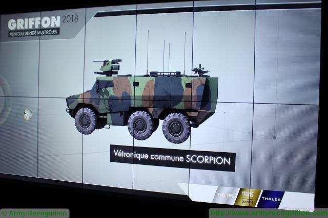 The French Army Scorpion programme is approaching fast to its first deliveries milestones, the French Defense Procurement Agency announced yesterday at Eurosatory, being held in Paris from 13-17 June. The first Griffon vehicles are due for delivery in 2018 and the first Jaguar in 2020.