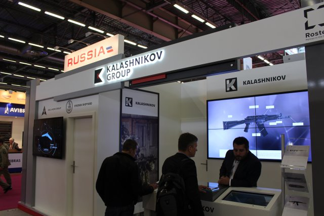 Kalashnikov Group exhibited at Eurosatory 2016 640 001