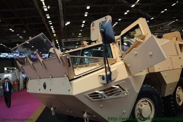 RTD has the export market in sight with new VAB Mk3 amphibious variant 640 001