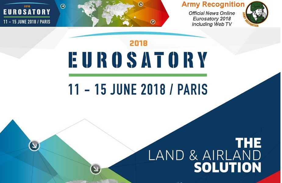 Army Recognition international defense security magazine appointed Eurosatory 2018 Official News Online with Web TV 925 001