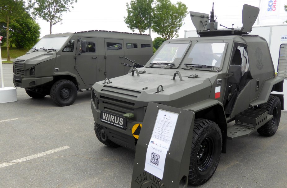 Eurosatory 2018 Polish company Concept displays Wirus IV for special forces