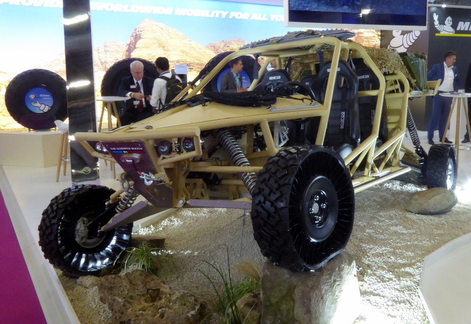 Booxt unveils Assaut as possible ultimate buggy for fRench special forces